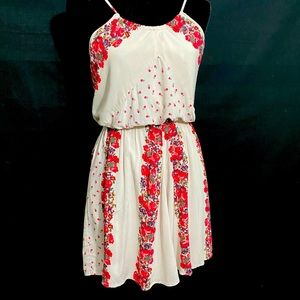 Free People Thin Strap Floral Sundress (Pockets!)